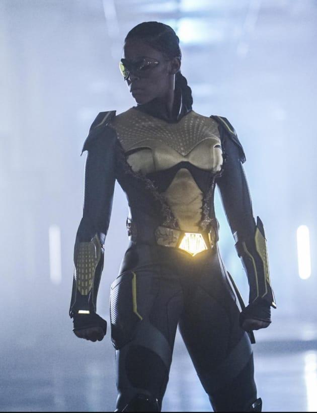 Anissa Fights - Black Lightning Season 1 Episode 10