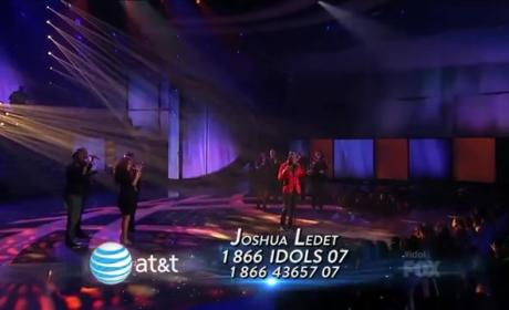 "Joshua Ledet American Idol Performance: ""I Believe"""