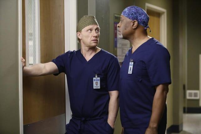 Owen and Richard - Grey's Anatomy Season 11 Episode 14