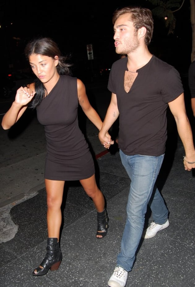 ed westwick and jessica szohr pic tv fanatic