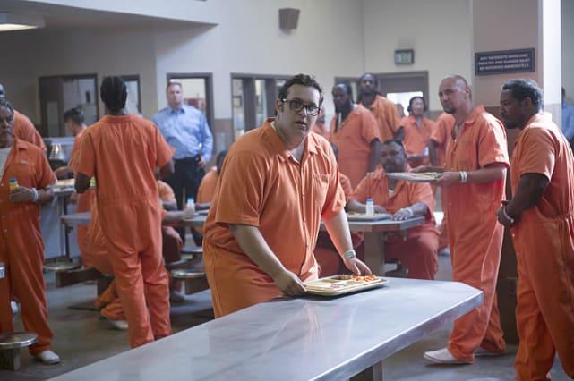 Sylvester in prison scorpion