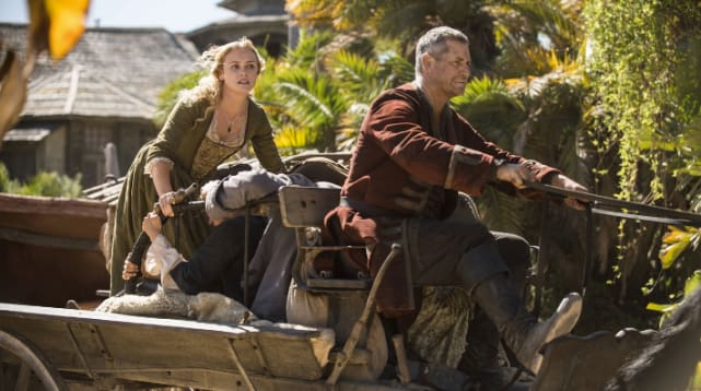 Violence runs amok black sails