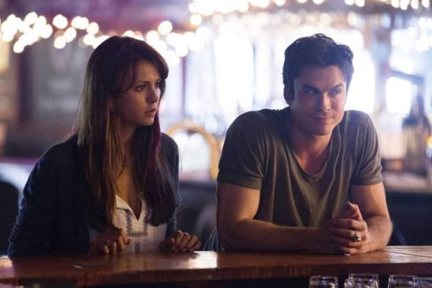 Delena at the Bar