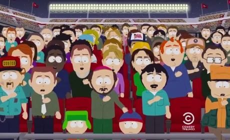 South Park Premiere Scene