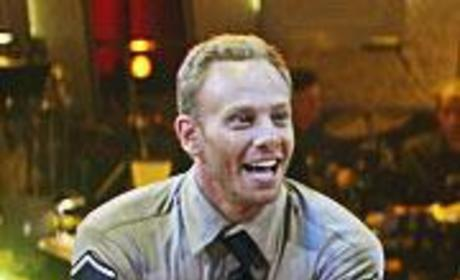 Ian Ziering Gets Down