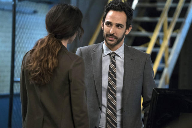 Aram and Samar take a moment - The Blacklist Season 4 Episode 9