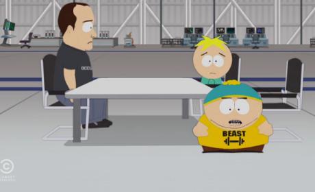On Mars - South Park