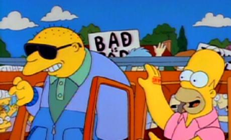 Michael Jackson on The Simpsons