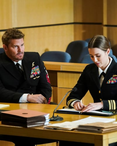 On Trial -- Tall - SEAL Team Season 4 Episode 11