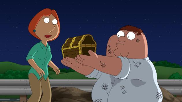 Peter Finds Treasure