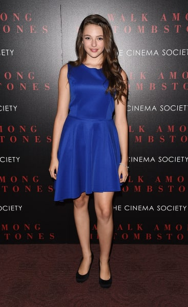 Danielle Rose Russell Attends Premiere