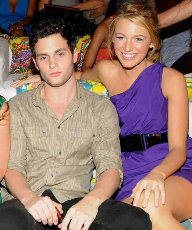 More Penn Badgley and Blake Lively