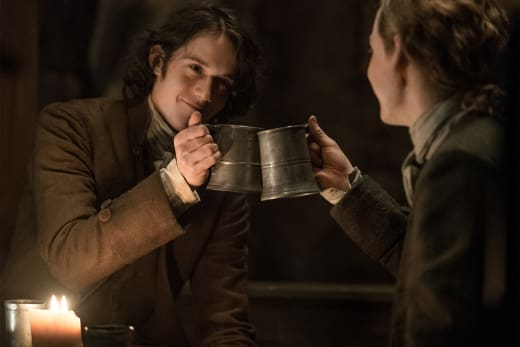 Fergus and Wee Ian - Outlander Season 3 Episode 7