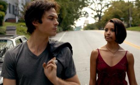 Damon and Bonnie in 1994 - The Vampire Diaries Season 6 Episode 2