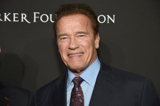 Arnold Schwarzenegger Attends Event
