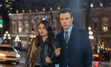 Mel and Harry in Manchester - Charmed (2018) Season 1 Episode 12
