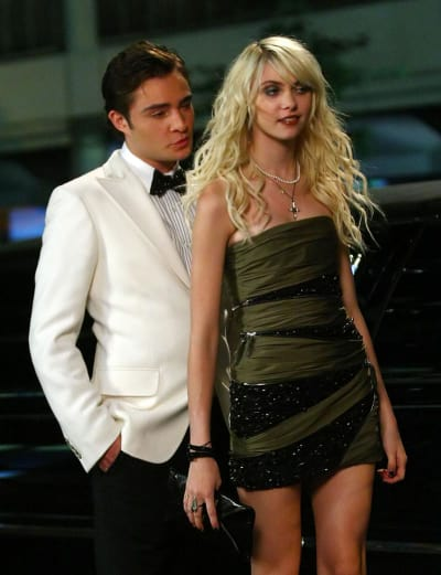 Ed Westwick and Taylor Momsen