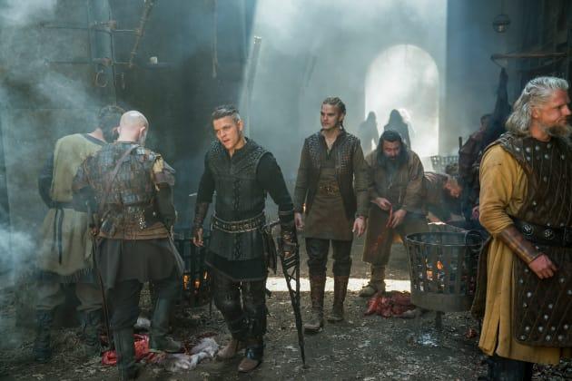 Ivar and Hvitserk - Vikings Season 5 Episode 4