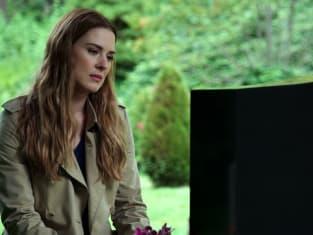 Mel at Grave WIDE - Virgin River Season 2 Episode 1