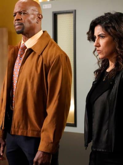 Stare Down - Brooklyn Nine-Nine Season 6 Episode 12