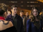 Mon-El and Kara in Trouble - Supergirl Season 2 Episode 9