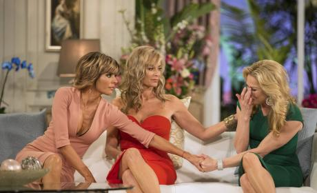 Tears on the Sofa - The Real Housewives of Beverly Hills