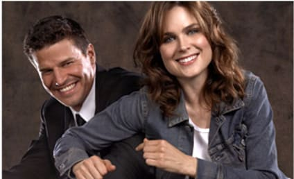 Bones and Booth... Naked in Bed?!?