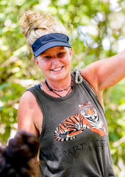 Smiling Heather - Survivor Season 41 Episode 2