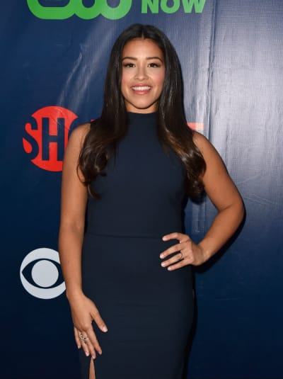 Gina Rodriguez at CBS/TCA party - Jane the Virgin