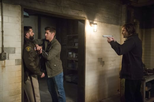 Dean makes his move - Supernatural Season 12 Episode 18