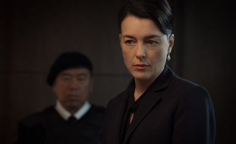 Emily Prime Working Hard - Counterpart Season 1 Episode 10
