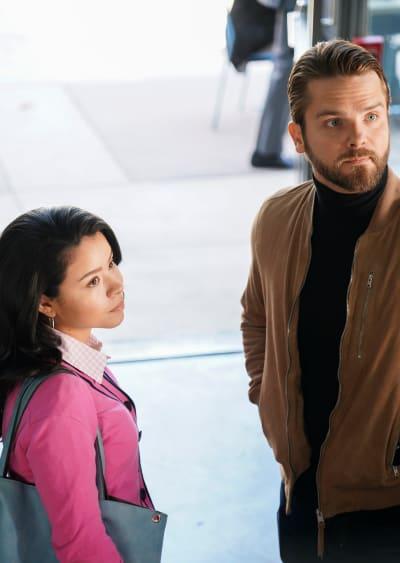 Evan's Bestie - Tall  - Good Trouble Season 2 Episode 8