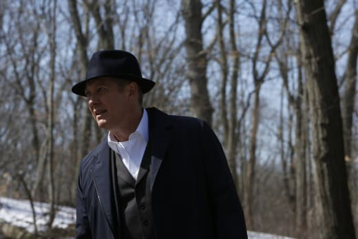 Red takes a stroll - The Blacklist Season 4 Episode 20