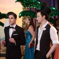 Klaine at the Prom