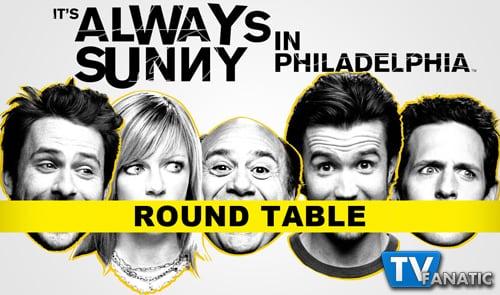 Always Sunny Round Table