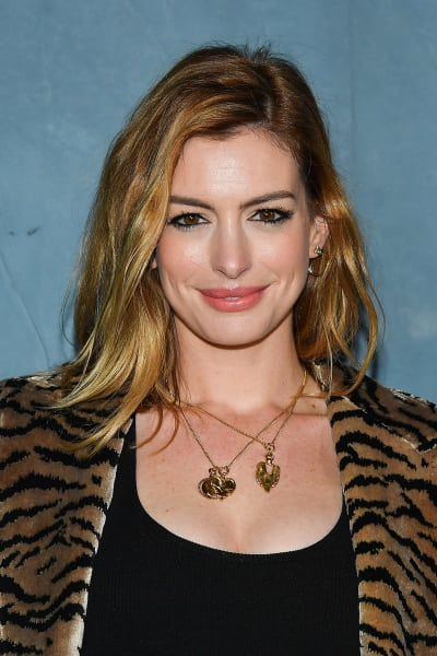 Anne Hathaway Attends Givenchy Event