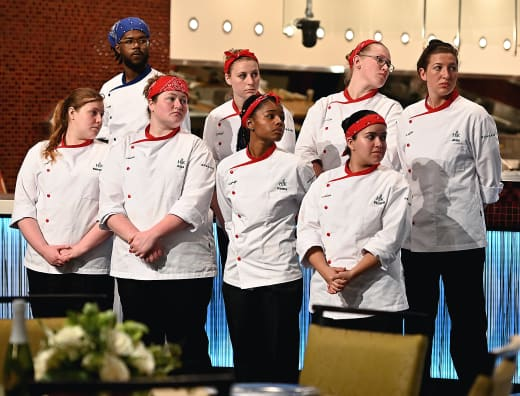 The Red Team ... And Steven  - Hell's Kitchen Season 20 Episode 4