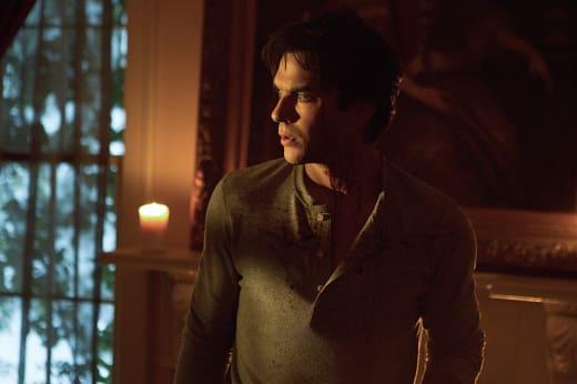 Damon in Deep Trouble - The Vampire Diaries