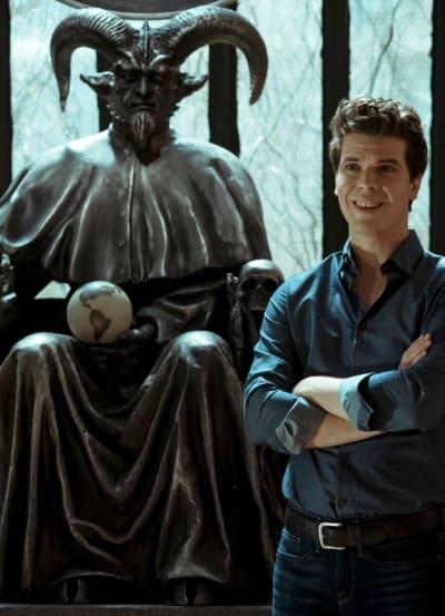 Giant Smiles at the Satanic Ministry - EVIL Season 2 Episode 11