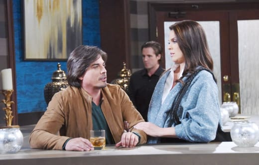 Chloe Tries to Help Lucas - Days of Our Lives