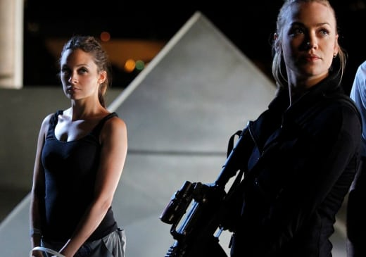 Heather and Sarah