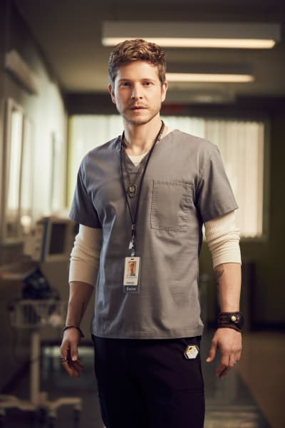 Matt Czuchry as Dr. Conrad Hawkins - The Resident