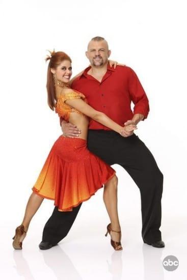 Anna Trebunskaya and Chuck Liddell Picture