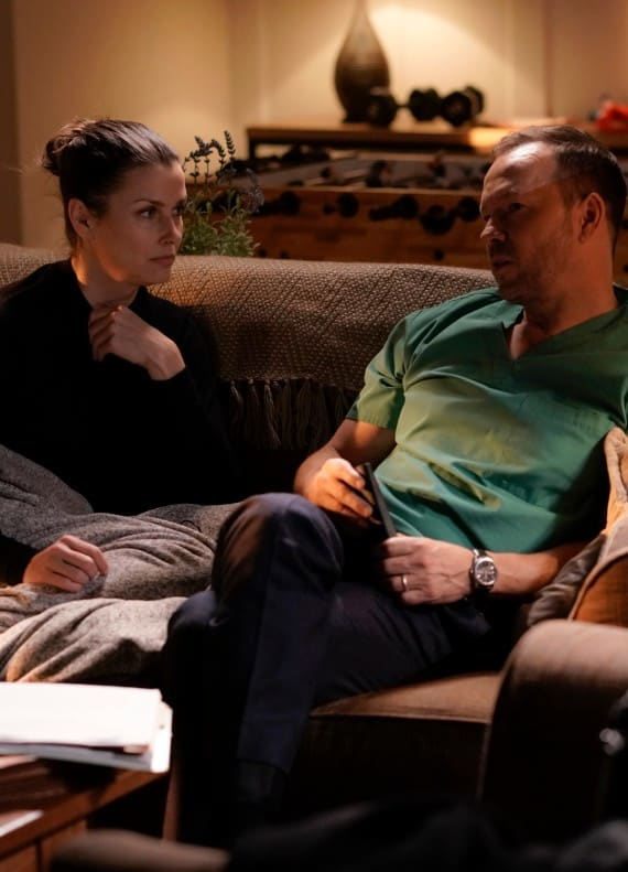 Talking With Her Brother - Blue Bloods Season 9 Episode 15