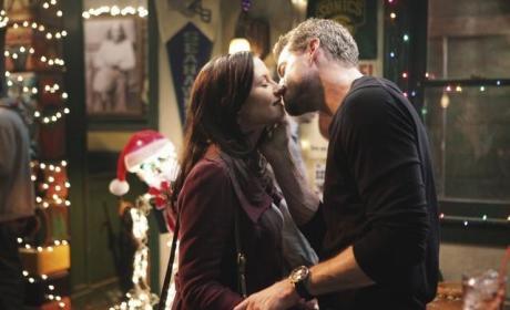 Lexie and Mark on Grey's