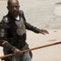 Morgan Ready to Fight - The Walking Dead