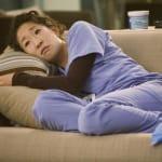 Curled Up Cristina
