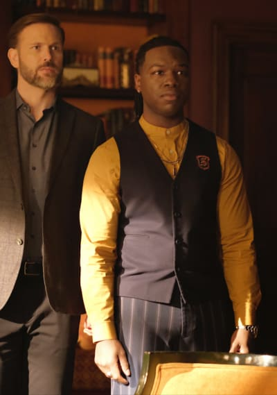 Alaric and Kaleb Work Together - Legacies
