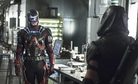 Arrow and Atom Season 4 Episode 6