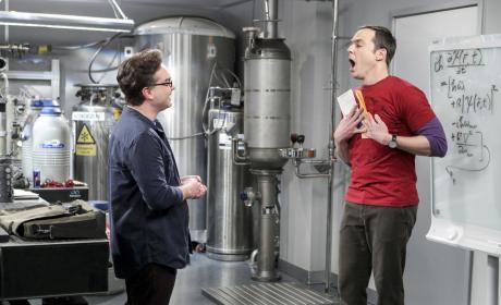 Sheldon is Shocked - The Big Bang Theory Season 10 Episode 15